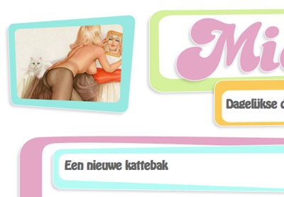 Layout van the Daily Mieuw